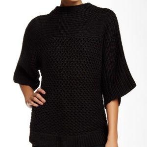 Trina Turk Ripa Wool Sweater Cable Knit Size Small